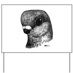 Stettiner Shortface Pigeon Yard Sign