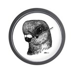 Stettiner Shortface Pigeon Wall Clock