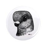 "Stettiner Shortface Pigeon 3.5"" Button (100 p"