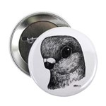 "Stettiner Shortface Pigeon 2.25"" Button (10 p"