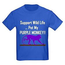Pet Purple Monkey T