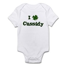 I Shamrock Cassidy Infant Bodysuit
