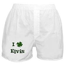 I Shamrock Elvis Boxer Shorts