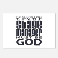 Stage Manager God Postcards (Package of 8)