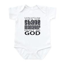 Stage Manager God Infant Bodysuit