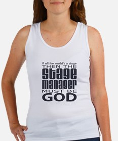 Stage Manager God Women's Tank Top