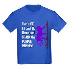 Spank Purple Monkey T