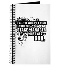 Grunge Stage Manager Journal