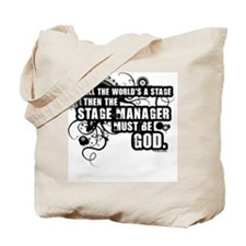 Grunge Stage Manager Tote Bag