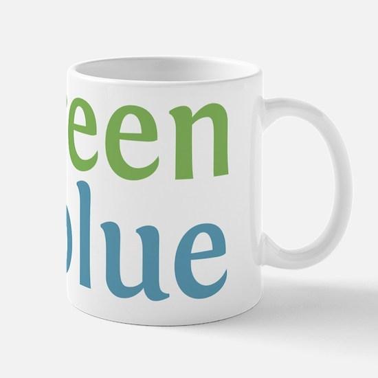 Live Green Vote Blue Mug