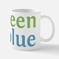 Live Green Vote Blue Small Small Mug