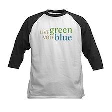 Live Green Vote Blue Tee