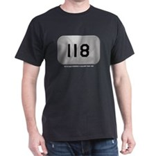Alpha 118 Black T-Shirt