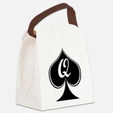 Elegant Spade.png Canvas Lunch Bag