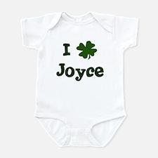 I Shamrock Joyce Infant Bodysuit