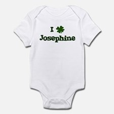 I Shamrock Josephine Infant Bodysuit