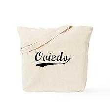 Vintage Oviedo (Black) Tote Bag