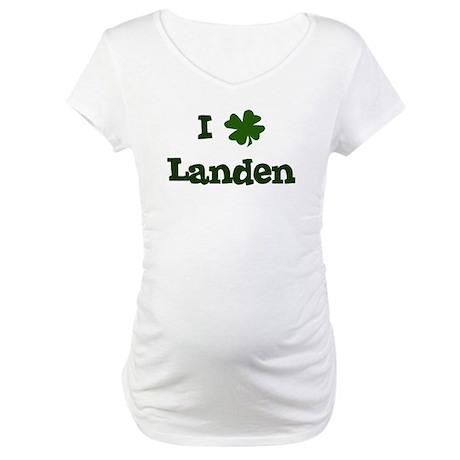 I Shamrock Landen Maternity T-Shirt