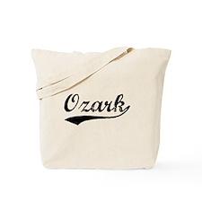 Vintage Ozark (Black) Tote Bag