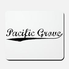 Vintage Pacific Gr.. (Black) Mousepad