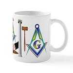 Masonic Friend to Friend Mug