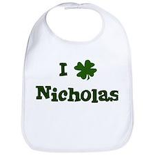 I Shamrock Nicholas Bib