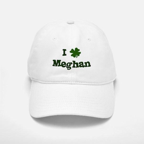 I Shamrock Meghan Baseball Baseball Cap