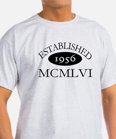 Established 1956 -- Happy Birthday T-Shirt