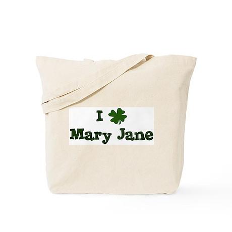 I Shamrock Mary Jane Tote Bag