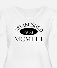 Established 1953 -- Happy Birthday T-Shirt