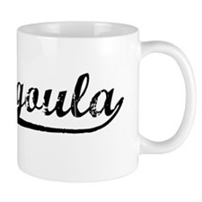 Vintage Pascagoula (Black) Mug