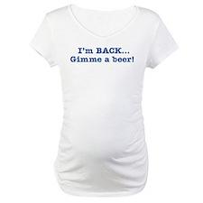 I'm BACK Quote - Blue Shirt