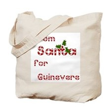 From Santa For Guinevere Tote Bag