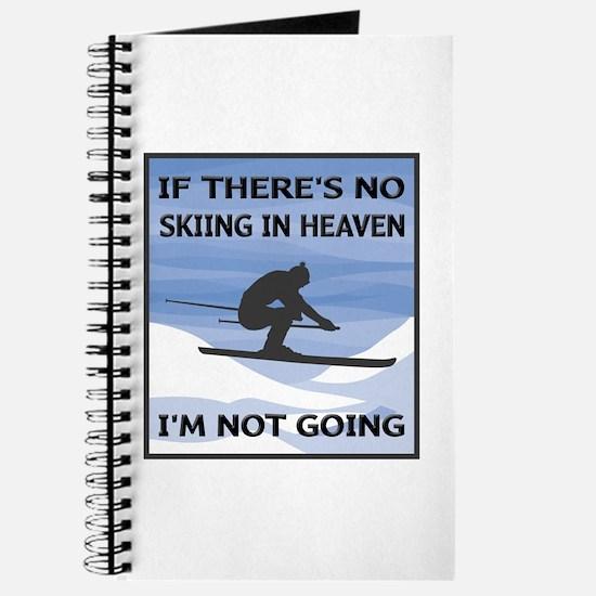 Skiing In Heaven Journal
