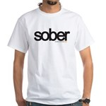 Bio Series: Sober 2 White T-Shirt