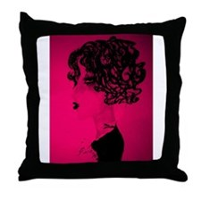 Cute Techno Throw Pillow