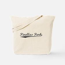 Vintage Pinellas P.. (Black) Tote Bag