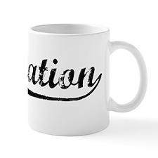 Vintage Plantation (Black) Mug