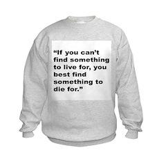 Rap Culture Live Die Quote Sweatshirt