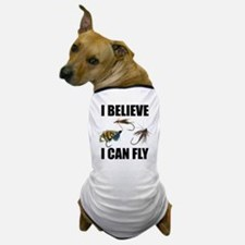I Believe I Can Fly Dog T-Shirt
