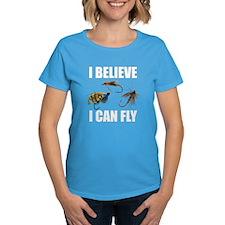 I Believe I Can Fly Women's Dark T-Shirt