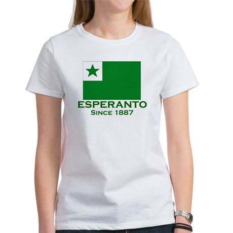 Esperanto since 1887 Women's T-Shirt