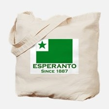 Esperanto since 1887 Tote Bag