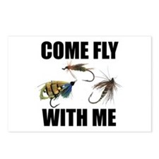 Come Fly With Me Postcards (Package of 8)