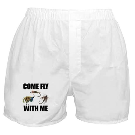 Come Fly With Me Boxer Shorts