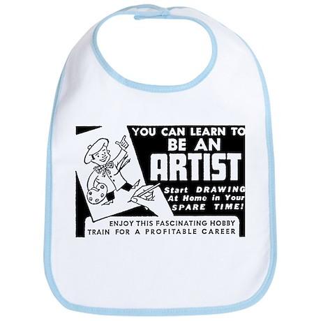 Be An Artist Bib