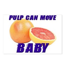 Pulp can move BABY- Postcards (Package of 8)