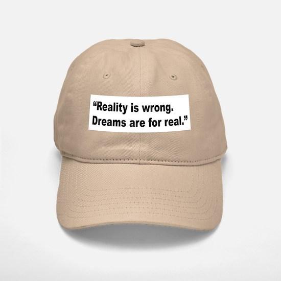 Rap Culture Dreams Quote Baseball Baseball Cap