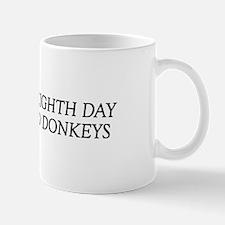 8TH DAY Donkeys Mug
