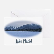 Lake Placid Mountain Greeting Cards (Pk of 10)